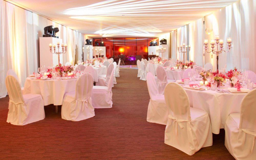 Flexibel und einladend: der east Ballroom als Hochzeitslocation