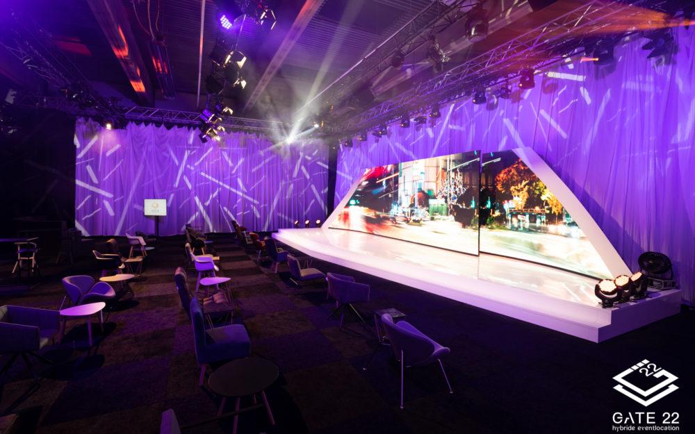 Bühne für virtuelle Veranstaltungen