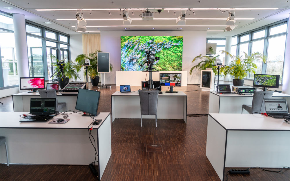 Raum für digitale Events