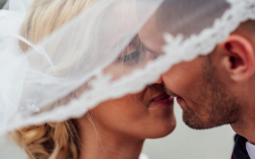 Nahaufnahme Brautpaar