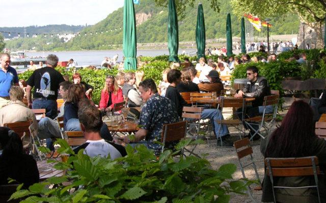 Konigsbacher Biergarten Am Deutschen Eck In Koblenz Mieten Eventano